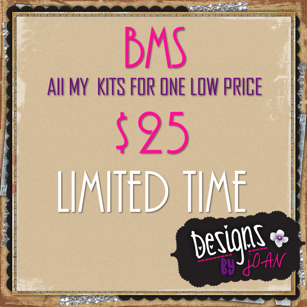 BMS LIMITED TIME DEAL
